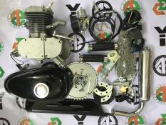động cơ gắn xe đạp chạy xăng, động cơ xăng 2 thì chế xe đạp 60cc