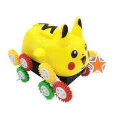 Xe Pikachu nhào lộn 12 bánh lật chạy pin