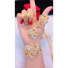 Bộ Trang Sức Xi Vàng 18k Gadoshop_VB4190601