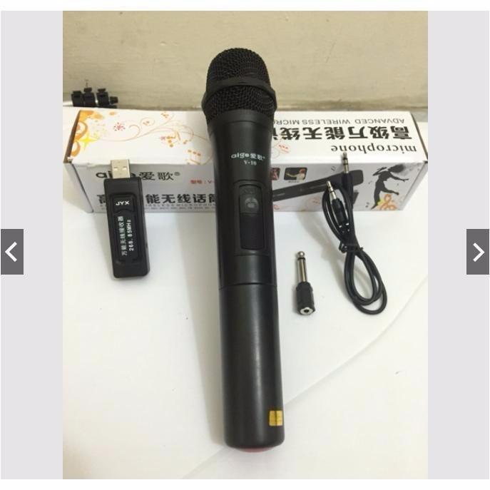 [Việt Nam Vô Đich] Bộ MIC Hát Karaoke Không Dây Đa Năng Giá rẻ , Dùng cho ÂMLY, LOA KÉO...