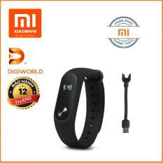 Vòng đeo tay Xiaomi Miband 2 (Đen) – Hàng Digiworld