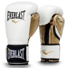 Găng tay Boxing Everlast Trắng – Tặng túi đựng găng