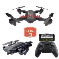 ( Tặng Kèm 1 Pin ) FLYCAM VISUO XS809HW Thế Hệ Mới, HD Camera FPV, Truyền Trực Tiếp Qua Điện Thoại, Gấp Gọn Thông Minh