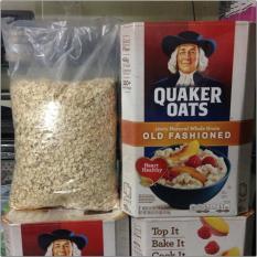 Nửa thùng yến mạch Mỹ Quaker Oats cán dẹp 2.26kg
