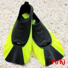 Chân nhái lặn biển HY88 – YELLOW, chân vịt lặn biển, chất liệu silicone ôm chân thoải mái vận động, hàng thể thao chuyên dụng cao cấp – POKI