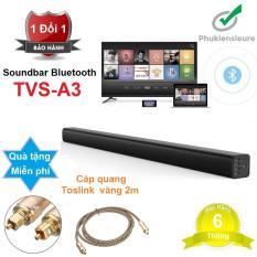 Loa thanh cho TV âm thanh 5.1 biến nhà bạn thành phòng chiếu phim – Bluetooth Soundbar A3 + Kèm Quà Tặng Hấp Dẫn (ảnh)