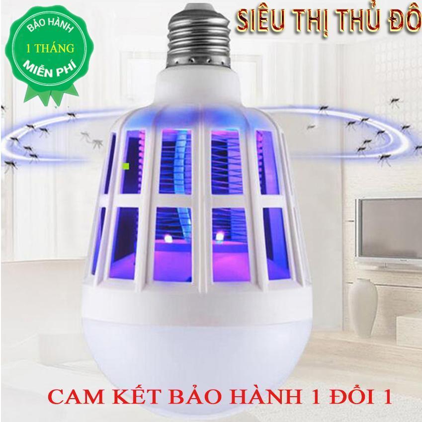 [XẢ KHO 3 NGÀY] Bóng đèn led chiếu sáng kiêm đèn bắt muỗi và côn trùng / đuổi muỗi diệt muỗi