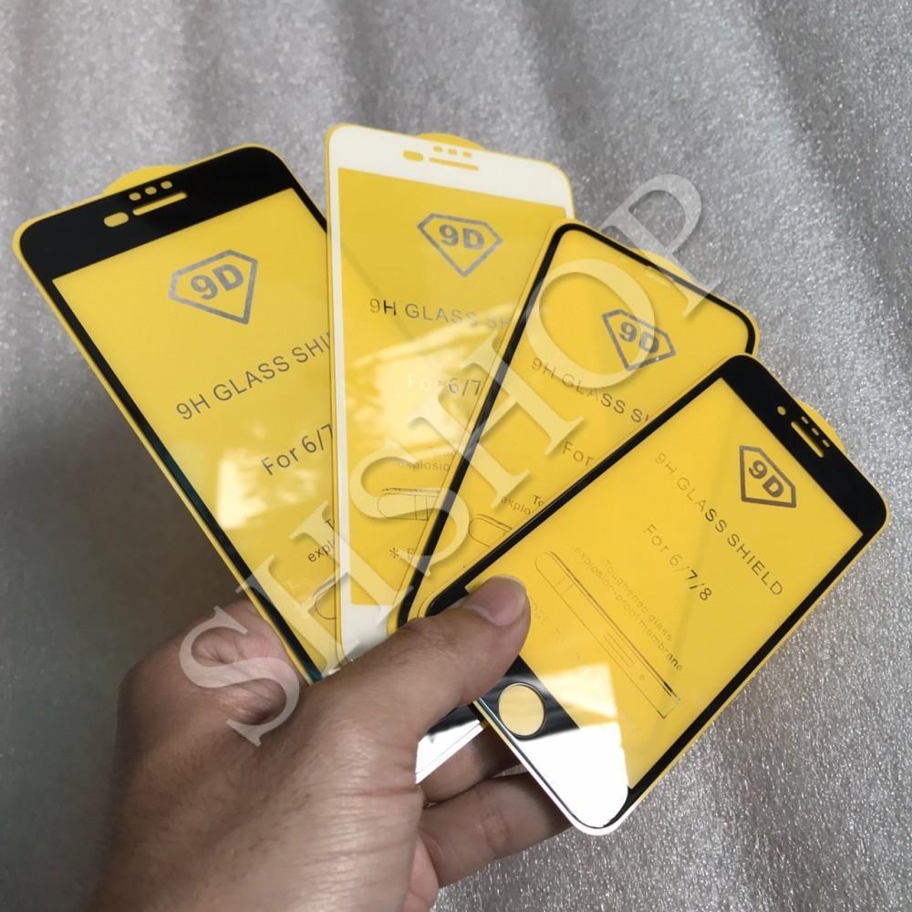 Mua Kính cường lực 9D cho iphone 6 / 6 plus / 7 / 8 / 7 plus / 8 plus / X (Giá sốc) ở đâu tốt?