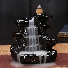 Thác Khói Trầm Hương – Thác nước (đen) + 10 Nụ Trầm