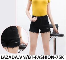 Quần Đùi Sọt Nữ Kaki Coton Co Dãn Thời Trang Hàn Quốc Mới – BT Fashion