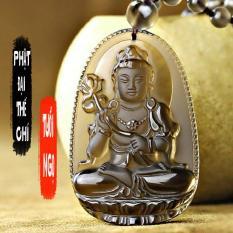 Chuỗi hạt đeo cổ mặt phật Đại Thế Chí Bồ Tát – Phật bản mệnh người tuổi Ngọ