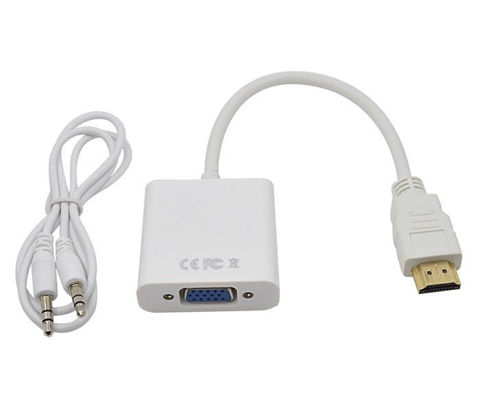 Cáp chuyển đổi HDMI sang Vga có âm thanh