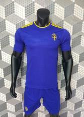 Quần áo đấu đội tuyển Thụy Điển xanh World Cup 2018