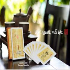 Góp nhặt Hoa Tâm – Thư pháp Thanh Sơn