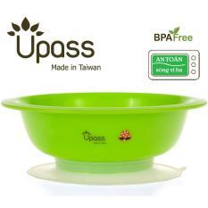 Ở đâu bán Bát ăn dặm 3 giai đoạn không BPA có đế hút chân không-dùng được trong lò vi sóng Upass UP5024Y-màu ngẫu nhiên