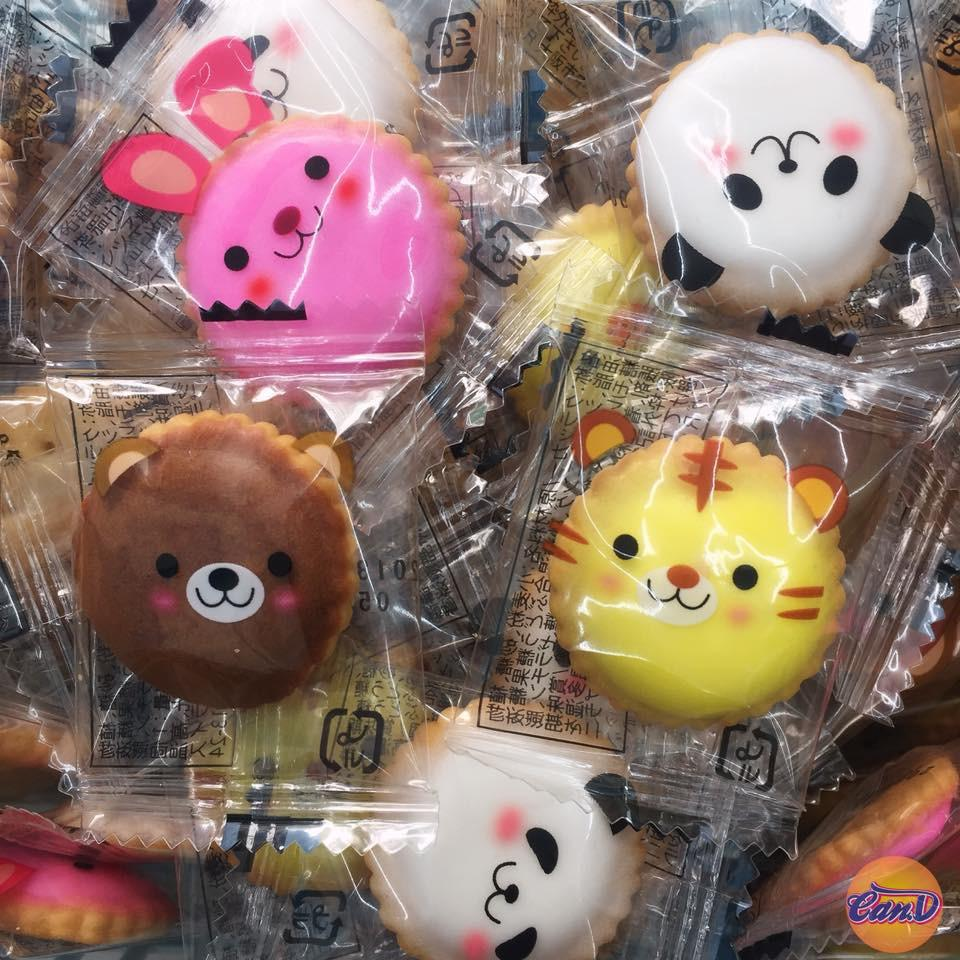 Bánh Cookie Cracker Animal (3 cái)