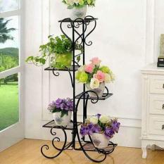Kệ để hoa 5 tầng bằng sắt