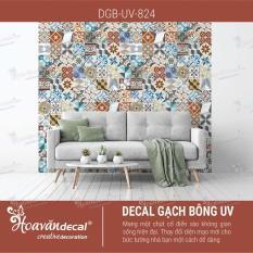 Decal dán tường gạch bông DGB-UV-824 80x60cm SET A-B-C (36 mẫu hoa văn)