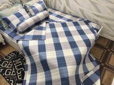 Bộ chăn ra cotton 5 món – Bộ chăn ra phòng ngủ