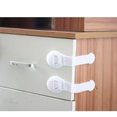 Bộ 3 khóa tủ lạnh an toàn cho tủ 2 cánh, ngăn kéo