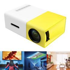 Hot new máy chiếu phim mini FullHD,3d máy chiếu phim giải trí gia đình LED YG300 -AL