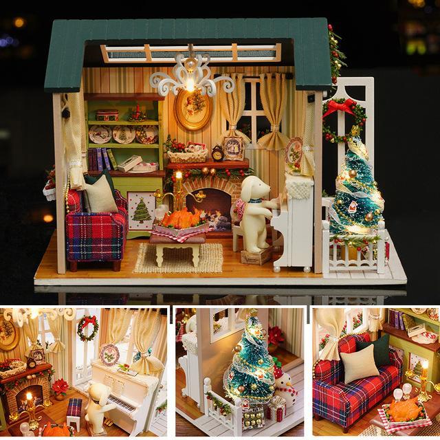 Bộ mô hình lắp ghép DIY Giáng Sinh Yêu Thương T001