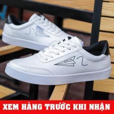 Giày thể thao nam sneaker màu trắng