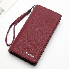 Bóp cầm tay nữ New4all CK85 thời trang (Tím) – Bóp ví cầm tay sang trọng