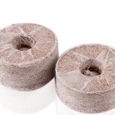 Bộ 100 viên nén ươm hạt xơ dừa hữu cơ trồng rau, dâu tây, thủy canh