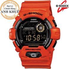 Đồng hồ nam dây nhựa G-SHOCK chính hãng Casio Anh Khuê G-8900A-4DR