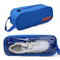 Túi đựng giày thể thao chống thấm có quai (xanh dương)