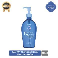 Dầu tẩy trang cho da dầu Senka Perfect Watery Oil 230ml