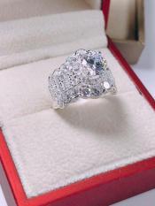 Nhẫn nữ thời trang đá giả kim cương