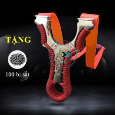 Sung Na Cao Su Dây Dẹt Long Phượng Dây 2 Lớp 1 mm + Tặng 100 viện bi sắt 8mm