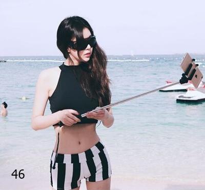 Bikini 2 mảnh sọc đen