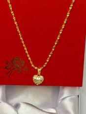 (HOT) Dây chuyền nữ mạ vàng 18K Vc567 (Vàng)