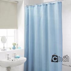 Màn treo nhà tắm chống thấm cao cấp (Xanh dương)