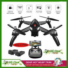 ( COMBO 2 PIN ) Máy bay flycam MJX bugs 5W – GPS, follow me , truyền hình ảnh về điện thoại, camera chỉnh góc xoay 90 độ