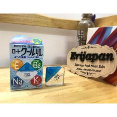 Nhỏ mắt Rohto Nhật Bản 12ml màu xanh