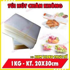1KG Túi hút chân không – Túi chân không đựng thực phẩm – SIZE 20×30 – chirita shop