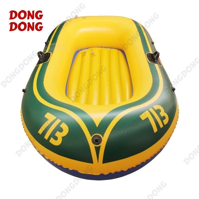 Thuyền phao Kayak 713 cho 2 người, thuyền bơm hơi đi câu cá gấp gọn tiện lợi, chất liệu cao cấp – DONGDONG