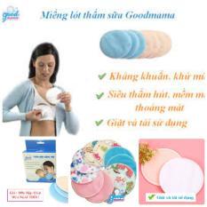 Miếng lót thấm sữa giặt được goodmama – 1 Hộp 8 miếng