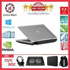 Laptop HP EliteBook 2560p Chạy CPU i5-2520M, 12.5inch, 4GB, HDD 250GB + Bộ Quà Tặng – Hàng Nhập Khẩu