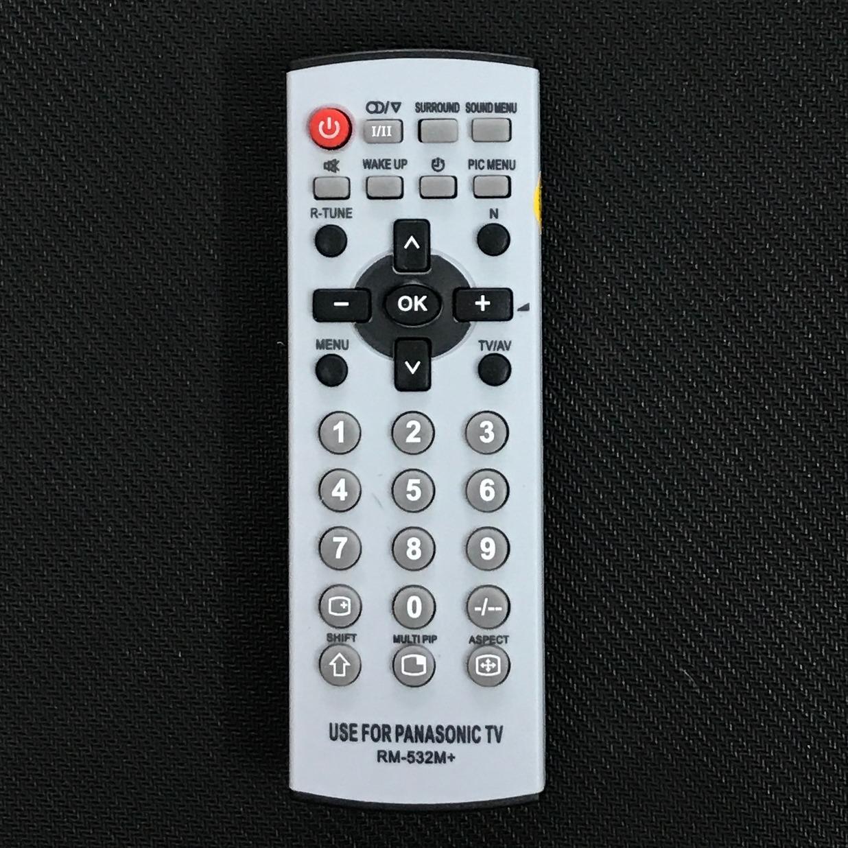 Điều khiển tivi panasonic RM-532M (ghi)
