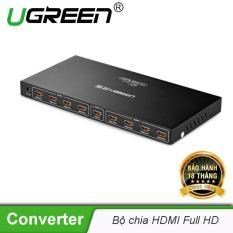 Bộ chia 1 cổng HDMI ra 8 cổng HDMI Hỗ trợ 2Kx 4K full HD UGREEN 40203 – Hãng phân phối chính thức