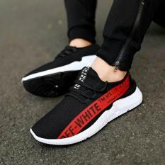 Giày thể thao, Giày thời trang nam 024, Giày vải sợi thoáng khí êm chân ( hình thật + sẵn hàng +hộp)