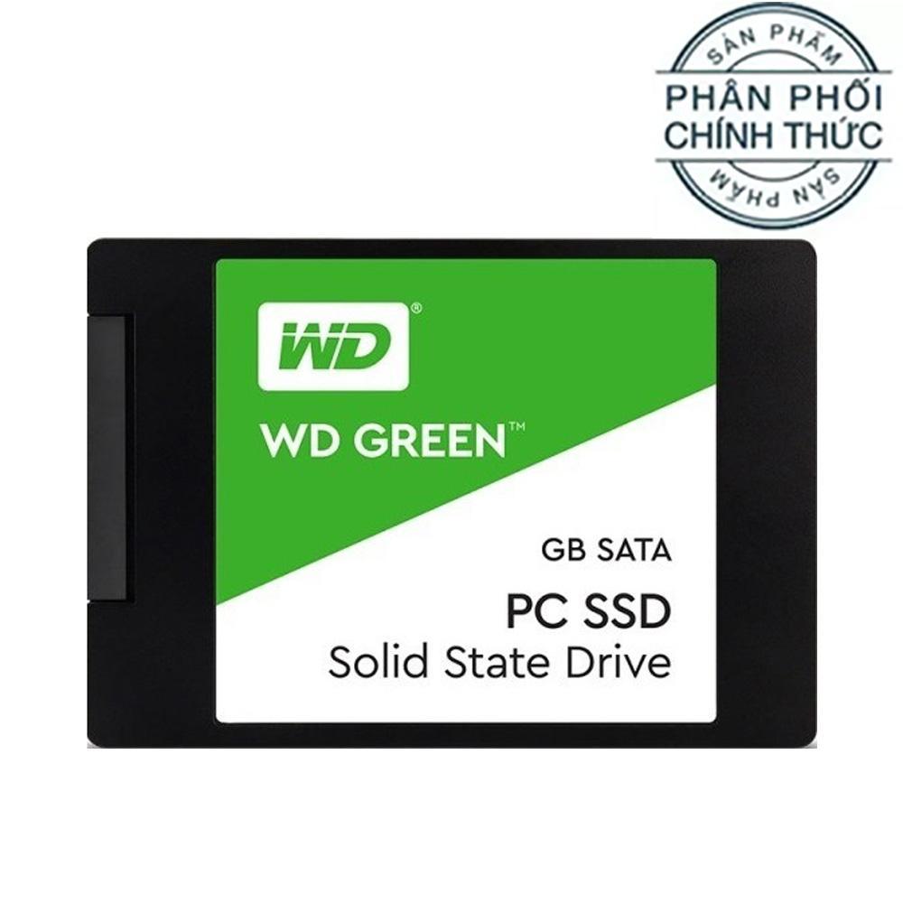 Ổ cứng SSD Western Digital Green Sata III 240GB (WDS240G2G0A) - Hãng Phân Phối Chính Thức