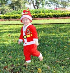 Bộ đồ Noel mừng giáng sinh cho bé trai ( 5 Tuổi ) Kmdeal