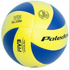 Bóng chuyền Paledas xoáy da PVC VB 3300 tặng kim bơm túi lưới
