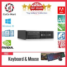 Máy tính Văn Phòng HP 8100 SFF Chạy CPU Core I3, Ram 8GB, SSD 120GB, HDD 1TB + Bộ Quà Tặng – Hàng Nhập Khẩu